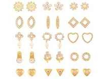 Touchstone Elegant Combo Of Fifteen Pairs Of Earrings Rs.359 - Amazon