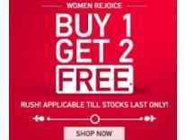 Myntra Buy 1 Get 2 Free offer on Fashion Product + 15% Cashback