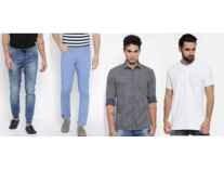 John Miller Hangout Men's Clothing Up To 70% start Off Start From Rs.299 - Myntra