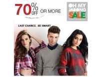 Clothing & Accessories Minimum 70% off - Jabong