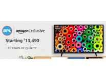 BPL LED TVs upto 40% off from Rs. 10490- Amazon