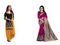 Rensila Women's Ethnic Wear Min 80 % Off From Rs. 419 @ Amazon