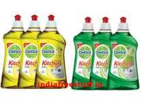 Dettol Kitchen Gel 400 ml ( Pack of 3) Rs.239 - Amazon